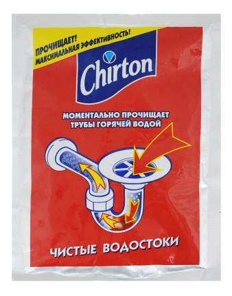 Средство для прочистки труб Chirton горячей водой 80 г