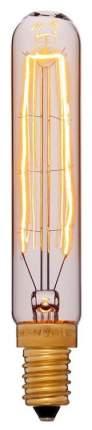 Лампа накаливания E14 25W трубчатая золотая 052-061
