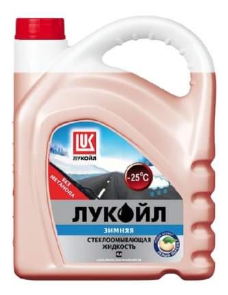 Жидкость стеклоомывателя Зимняя LUKOIL -25°C 4л 193706