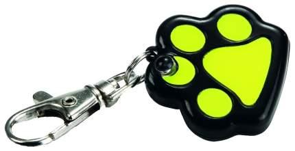 Подвеска-маячок для кошек и собак Beeztees светящаяся Лапка с батарейкой