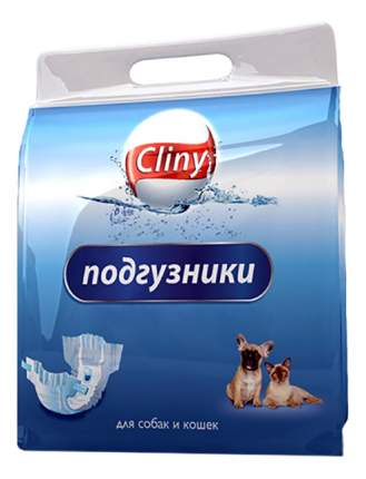 Подгузники для кошек и собак Cliny, M