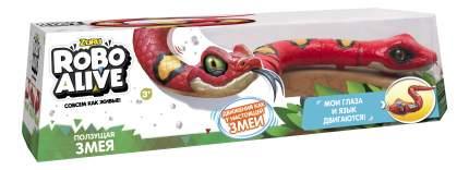 Интерактивное животное ZURU Змея красная