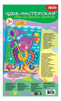 Аппликация из мягкого полимера Дрофа-Медиа Веселый осьминог