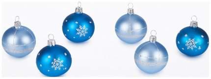 Набор шаров Кристалл голубой C130
