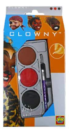 Краски для лица SES Creative Clowny 3 цвета