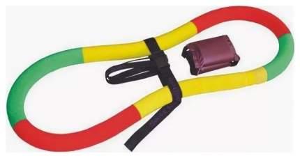 Обруч-тренажер Спорт-21 Сделай Тело 90 см красный/желтый/зеленый