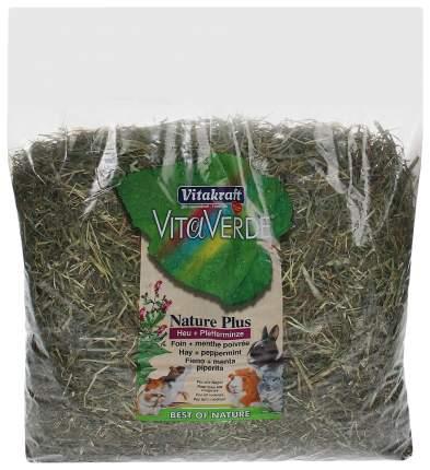 Сено для грызунов Vitakraft VITA VERDE с мятой перечной 0.5 кг 1 шт