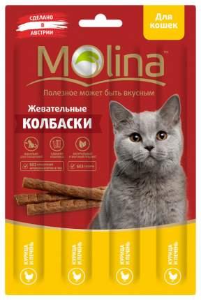 Лакомство для кошек Molina, курица, печень, 1шт, 0,02кг