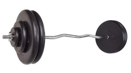 Штанга MB Barbell, гриф ez-образный 127 см, 90 кг, 25 мм