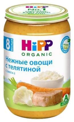 Пюре мясное HiPP Нежные овощи с телятиной с 8 мес 220 г