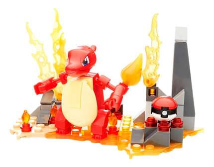 Конструктор пластиковый Mega Bloks Pokemon. Charmeleon Buildable Figure