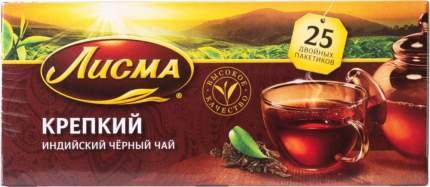 Чай черный Лисма индийский 25 пакетиков