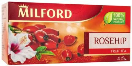 Чай фруктовый Milford rosehip 20 пакетиков