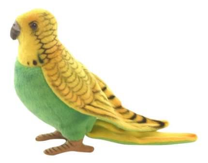 Мягкая игрушка Hansa Волнистый Попугайчик Зеленый 15 см 3653П