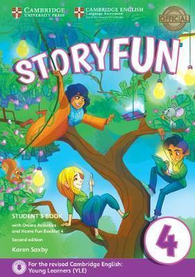 Storyfun for Starters, Movers and Flyers 2ED Movers 2 SB+Onl Activ