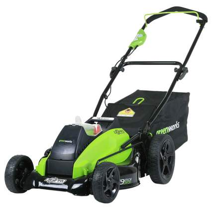 Аккумуляторная газонокосилка GreenWorks G-MAX 40V DigiPro