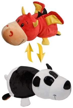 Мягкая игрушка 1 TOY Вывернушка Панда и Красный дракон 20 см