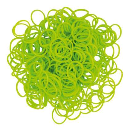 Плетение из резинок Rainbow Loom Набор резинок и С-клипс Неоново-зеленые