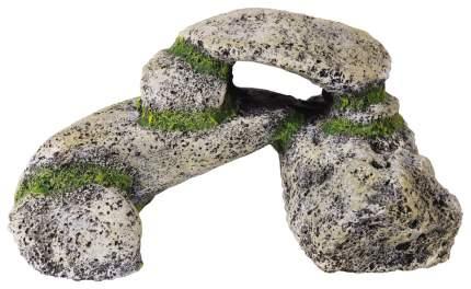 Камень для аквариума искусственный серый