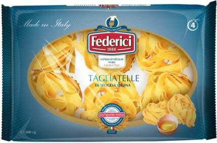 Макаронные изделия Federici tagliatelle лапша в гнездах 200 г
