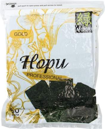 Морские водоросли Midori gold professional нори  50 листов 140 г