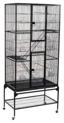 Клетка для птиц Triol 5005, черная, 81 x 47 x 176 см