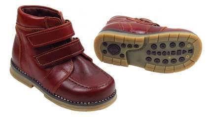 Ботинки детские Таши Орто На 2 липучках коричневые р.26