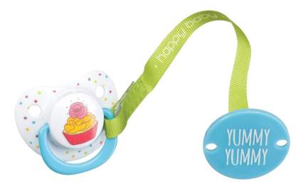 "Пустышка с держателем ""YUMMY"" Happy Baby 1 шт."