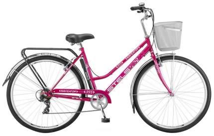 """Велосипед Stels Navigator 355 Lady 28 Z010 2018 20"""" красный/фиолетовый"""