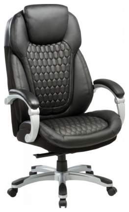 Кресло руководителя Бюрократ T-9917/BLACK, черный/серебро