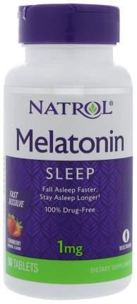 Добавка для сна Natrol Melatonin 90 табл. клубника