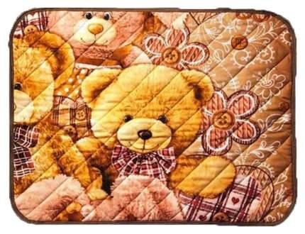 Многоразовая пеленка для животных Show Dog Мишкины друзья, размер 60х40см,