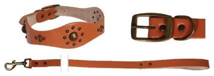 Ошейник поводок для собак Triol оранжевый, 1,2м