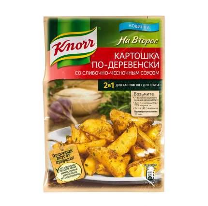 Смесь  Knorr на второе со сливочно-чесночным соусом 28 г
