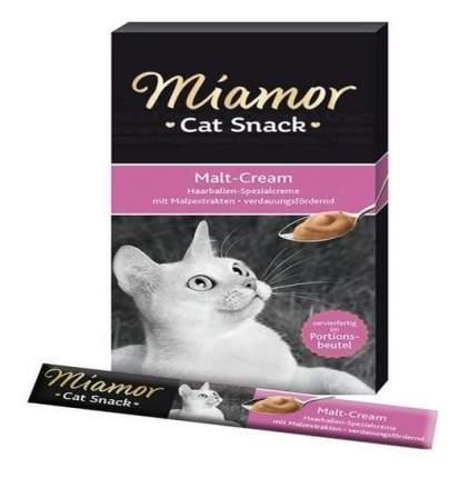 Лакомство для кошек Miamor, мультивитаминный крем, 6 шт. по 85 г