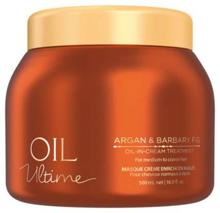 Маска для волос Schwarzkopf Professional Oil Ultime Oil-in-Cream Treatment 500 мл