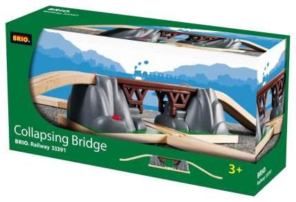 Игровой набор Brio Деревянная ж/д Падающий мост
