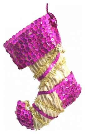 Носок Winter Wings N02261 Фиолетовый, золотистый