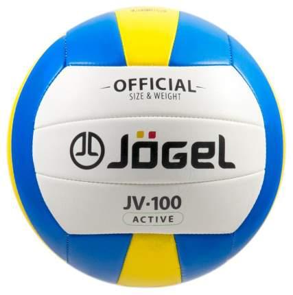 Волейбольный мяч Jogel JV-100 №5 blue/white/yellow