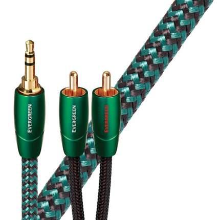 Кабель межблочный AudioQuest Evergreen 1,0m (3,5mm-RCA)