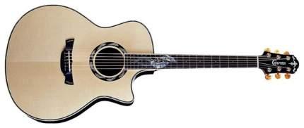 Электроакустическая гитара шестиструнная CRAFTER SM-Rose Plus Кейс
