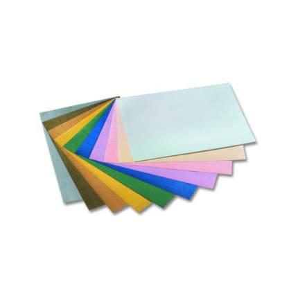 Картон гофрированный, 50x70 см, 10 цветов