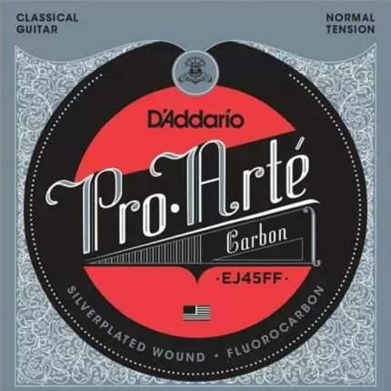 Струны для классической гитары D ADDARIO EJ45 FF