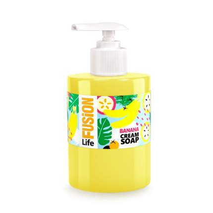 Крем-мыло Fusion Life Банан 300мл