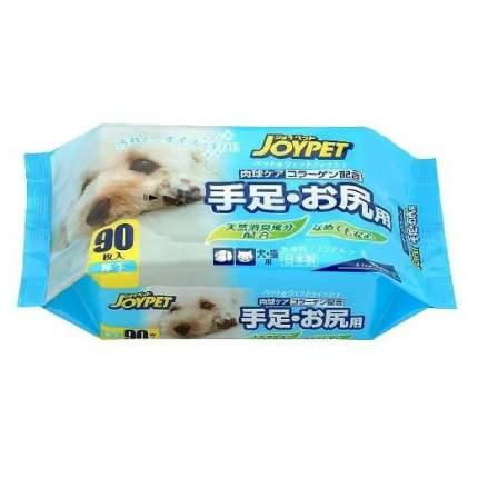 Влажные салфетки Japan Premium Pet, для ухода за лапами и областью под хвостом, 90шт