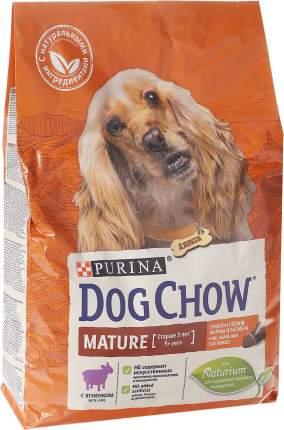 Сухой корм для собак Dog Chow Mature Adult, старше 5 лет, ягненок, 2,5кг