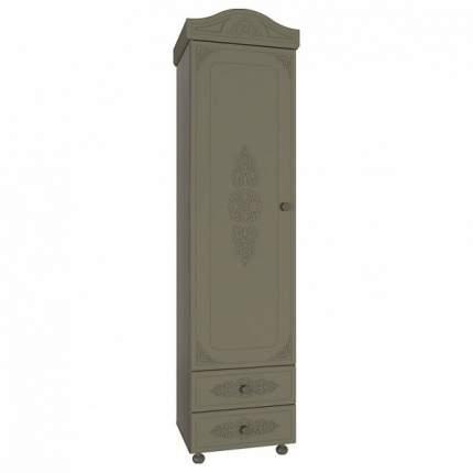Платяной шкаф Компасс-мебель Ассоль плюс АС-01 KOM_AC01_4_plus 53,2x41,6x206, грей