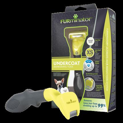 Фурминатор для собак FURminator® для карликовых пород с короткой шерстью, XS