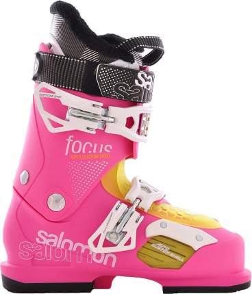 Горнолыжные ботинки Salomon Focus 2014, pink/pink, 23.5