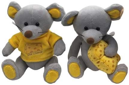 Мягкая игрушка FluffyFamily Мышь Сырник 681630